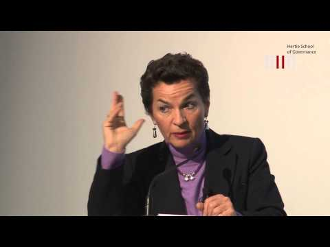 Lecture by Christiana Figueres on the Climate Change Negotiating Process