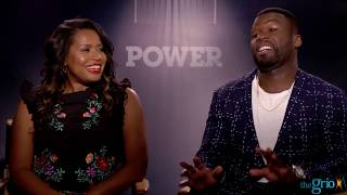 It's NO Beef! POWER's 50 Cent & Courtney Kemp Agboh Say They're Closer Than Ever