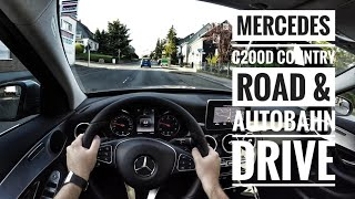 Mercedes-Benz C200d (2016) - POV Country Road and Autobahn Drive