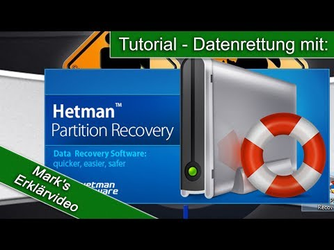 Daten Retten Mit Dem Programm - Hetman Partition Recovery Commercial Edition 2 8 / Tutorial