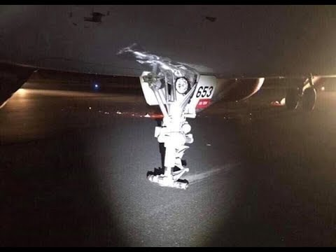 Máy bay Vietjet gặp sự cố lúc hạ cánh 29-11-2018