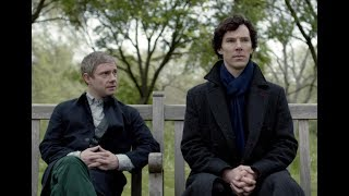 Sherlock BBC - John & Sherlock - Hanging out with you!