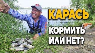 Дядя Фёдор ловит карасей на удочку Прикармливать карася на рыбалке или нет вот в чём вопрос