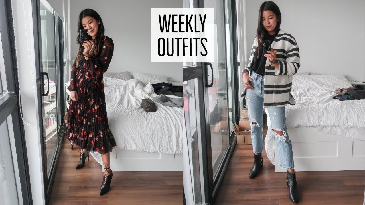 WINTER OUTFIT INSPO | EVERYDAY LOOKS | WHAT I WORE THIS WEEK