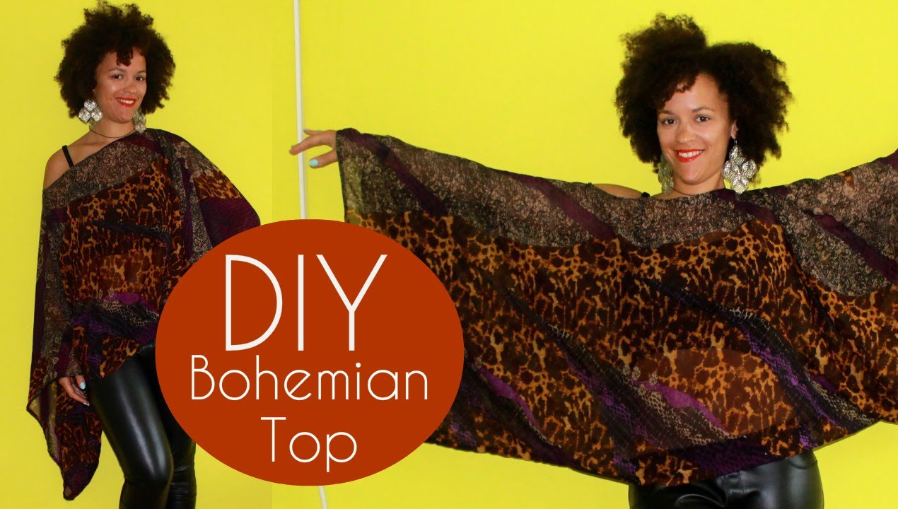 Diy bohemian top sewing for beginners pink chocolate break diy bohemian top sewing for beginners pink chocolate break youtube jeuxipadfo Image collections
