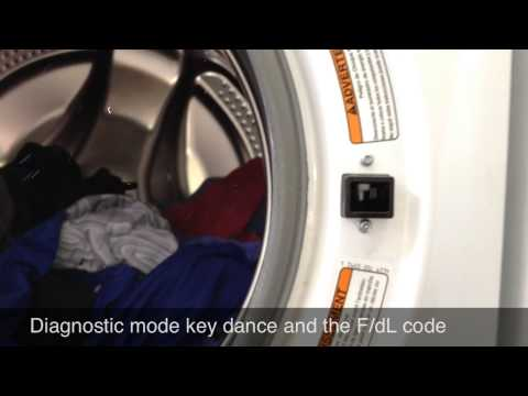 Troubleshooting and Repairing an F/dL Error Code on a Whirlpool Duet Washer