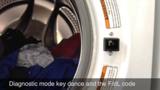 troubleshooting and repairing an f dl error code on a whirlpool duet washer