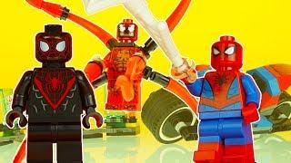 LEGO SPIDERMAN & MILES MORALES vs CARNAGE superhero toys lego superheroes