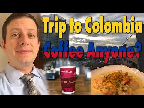 3 Day Trip To Bogotá, Colombia!  Coffee Anyone? Pilot Vlog