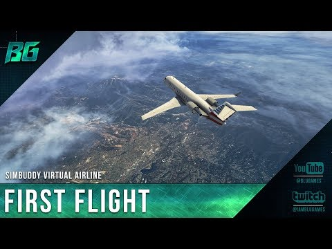 First Flight - How To Create A Virtual Airline With Simbuddy (Part 2)