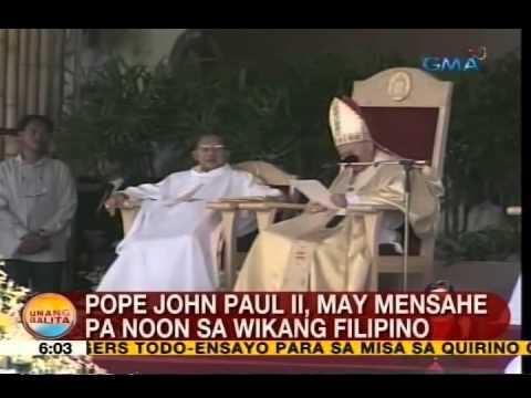 UB: Mga Pinoy, mainit na tinanggap si Pope John Paul II sa kanyang pagdalo sa 1995 World Youth Day
