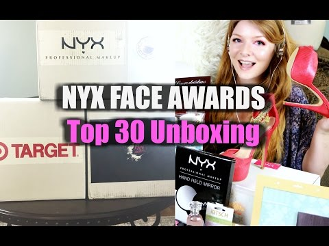 NYX Face Awards | TOP 30 UNBOXING!!!