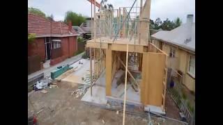 Как строят загородные дома в Америке.