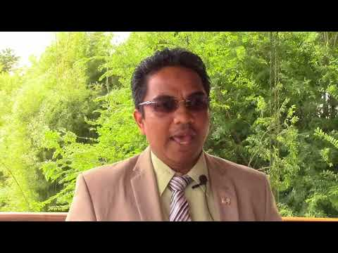 SURINAME (in Dutch): Minister of Home Affairs, H.E.F.M.M. Noersalim speaks on LEAVE NO ONE BEHIND