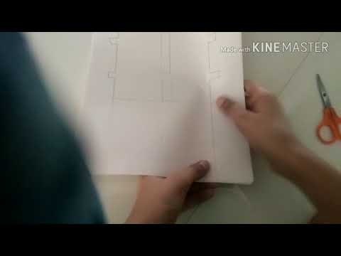 How to make a BIGG paper fence(large size)