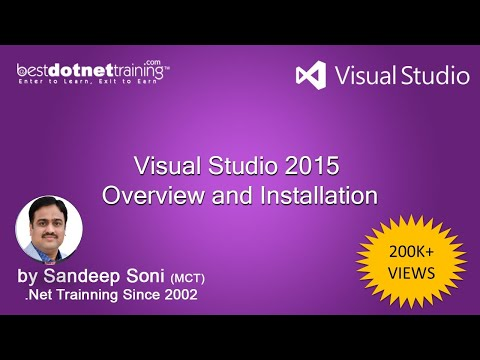 Part 1 - How to install Visual Studio 2015? - It's Overview and Installation process