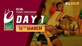 Day 1 - Paarl Gim U16 Rugby Tournament, 16 March