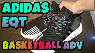 Adidas EQT Basketball ADV Unboxing And Review