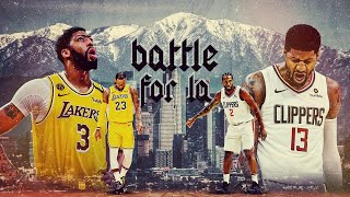 BATTLE OF L.A - (Lakers vs Clippers Hype)