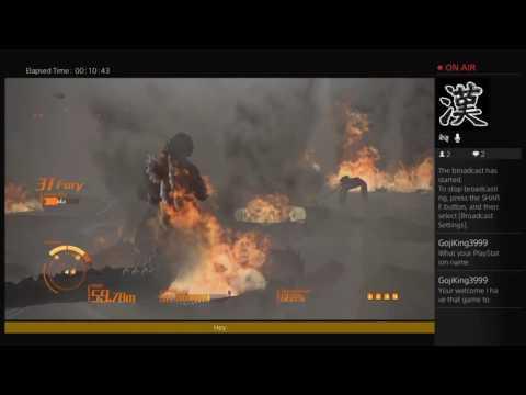 Godzilla PS4 Livestream!