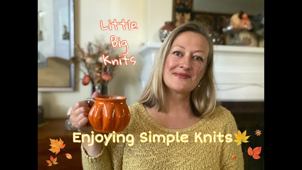 Episode 54 - Enjoying Simple Knits!
