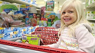 TARGET GROCERY SHOPPING & HAUL!