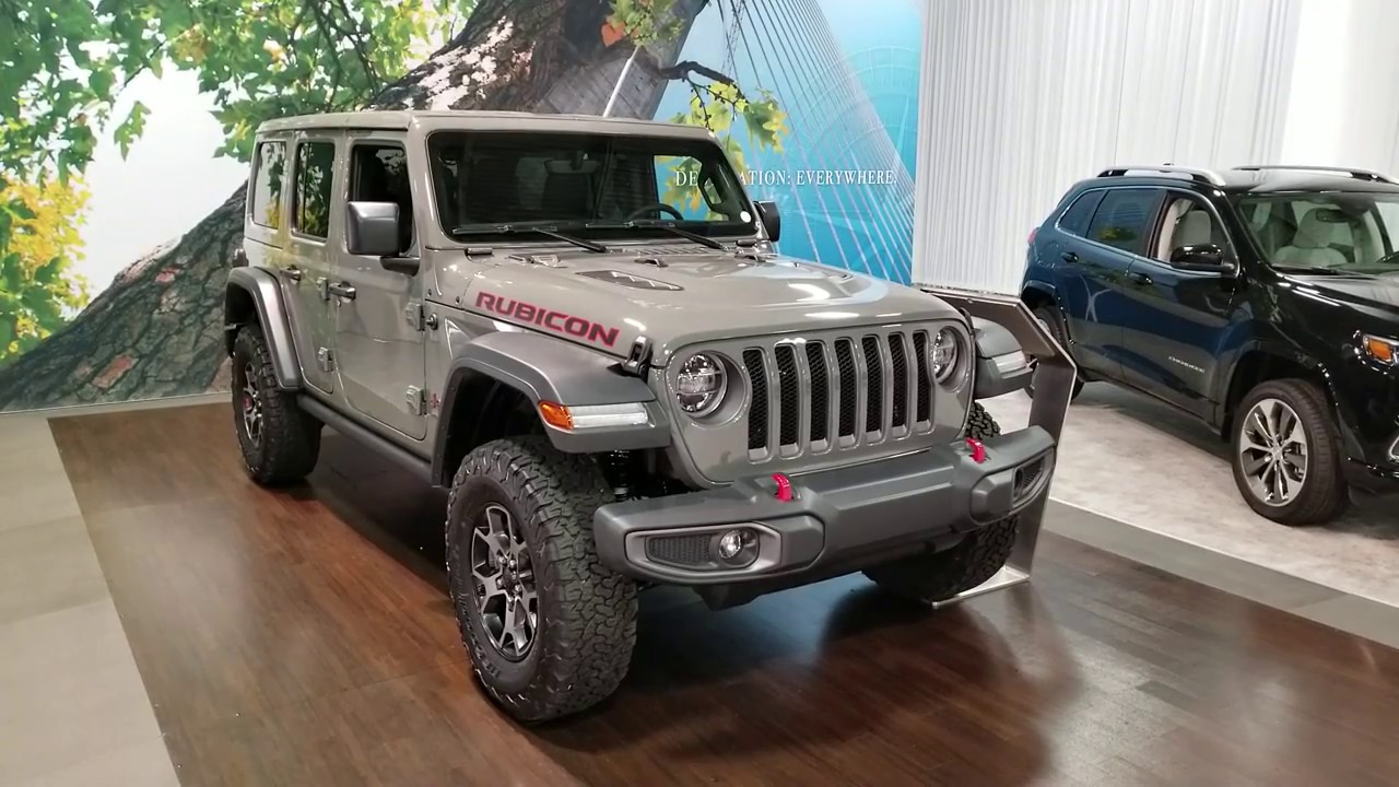 2019 Jeep Wrangler Rubicon 4 Door Review