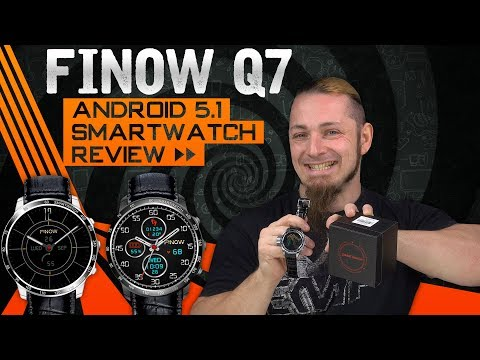 FINOW Q7 ⌚ 50€ für vollwertige Android Smartwatch? [Review, German, Deutsch]