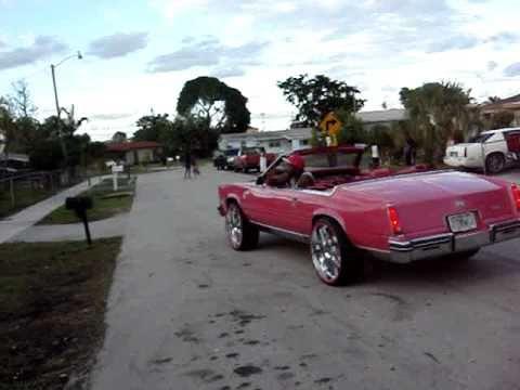 Cadillac Eldorado Convertible On 24 Quot Rims Youtube