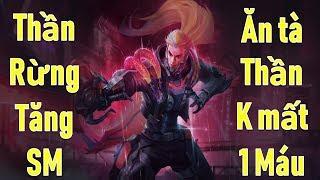 Liên quân: Thần rừng Murad Siêu việt 2.0 Solo tà thần không mất 1 máu và tăng sức mạnh