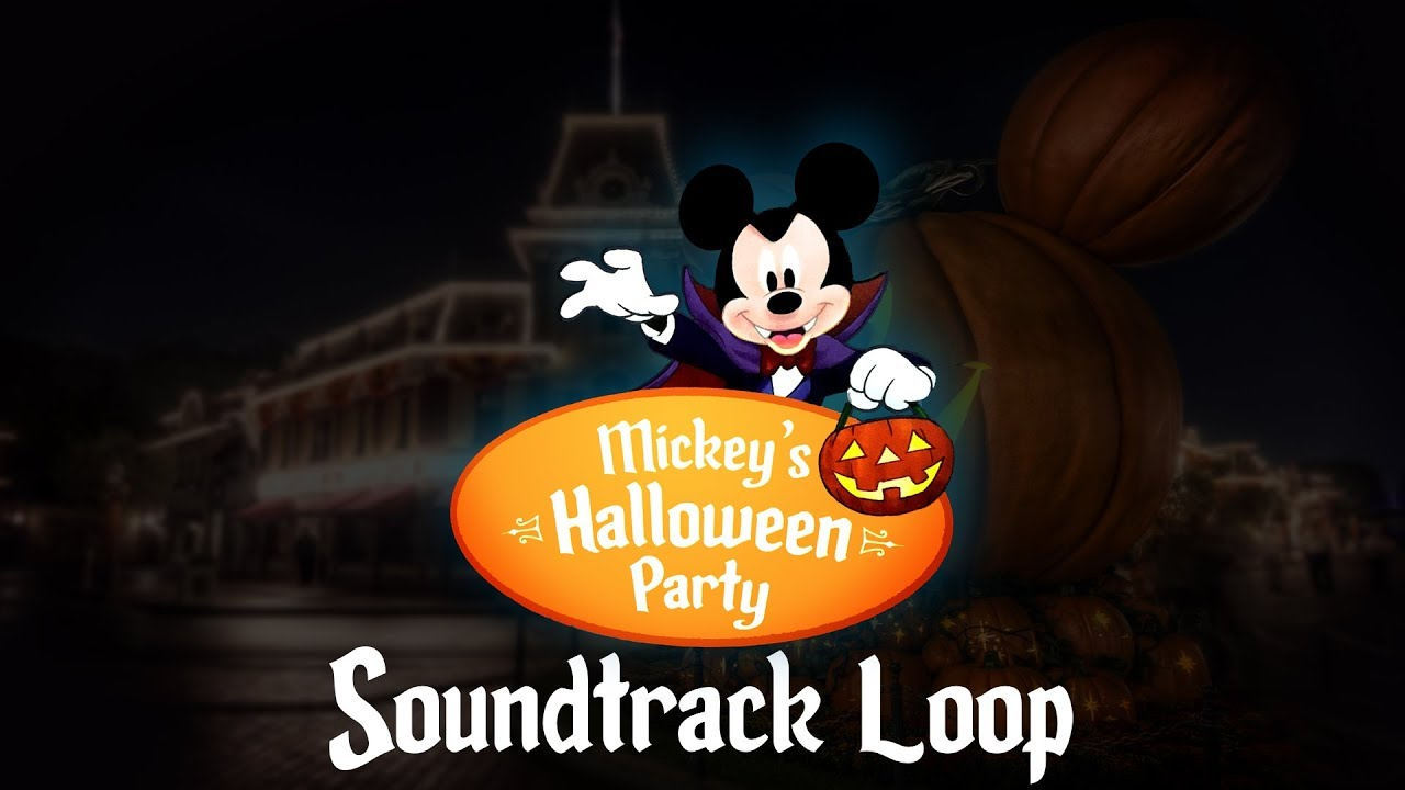 Mickey's Halloween Party Music: Full Soundtrack - YouTube