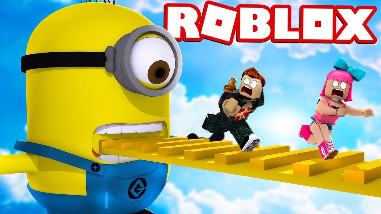Fuja Dos Minions Em Familia No Roblox Escape The Minions - fuja da vovo super perigosa no roblox escape grandmas house