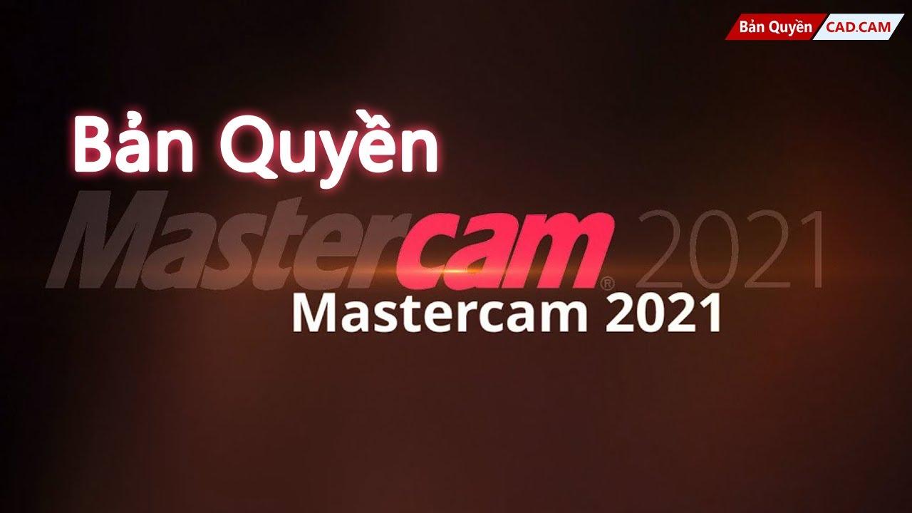 Mua Phần Mềm MasterCAM 2021 Mới Nhất: Tool Axis Control - YouTube