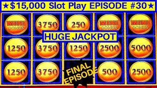 High Limit Lightning Link Slot Machine ★BIG HANDPAY JACKPOT★ | EPISODE-30 |🔥Final Episode🔥 !!