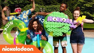 Make Your Summer Pool Party POP w/ These Fun DIY Hacks!!   Nick