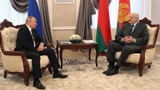 Александр Лукашенко и Владимир Путин провели переговоры в Могилёве