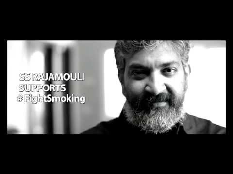 SS Rajamouli Supports #FightSmoking   AOI