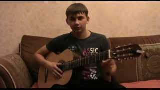 Петлюра - Платье белое (разбор песни) как играть на гитаре