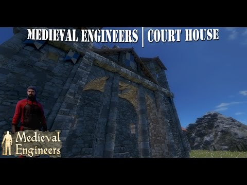 Medieval Engineers | Let's Build | Court House