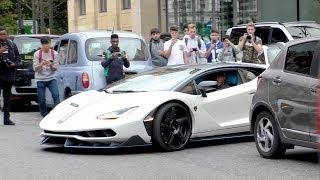 SWAPPING his $2.5Million Lamborghini CENTENARIO for his $3Million Bugatti CHIRON!
