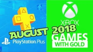 PS4 and XBOX ONE Free Games of August (2018)