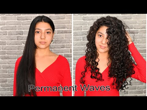 Permanent Waves Tutorial For Long Hair