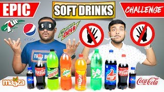 EPIC SOFT DRINKS CHALLENGE   Cold Drinks Competition   Food Challenge