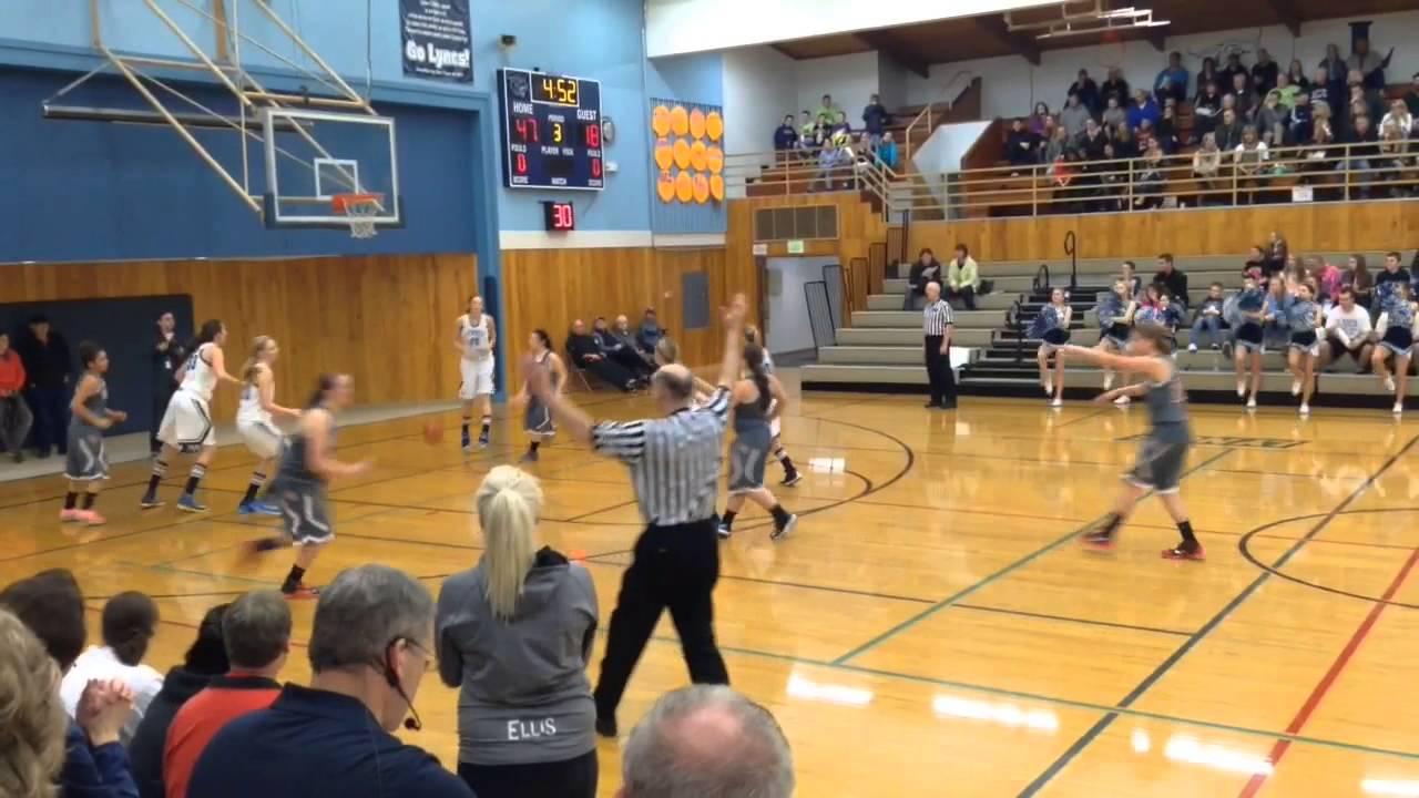 Girls' basketball district semifinal (Lynden Christian vs ...
