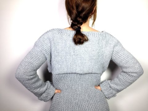 How To Loom Knit A Sweater Pullover Jersey Diy Tutorial Youtube