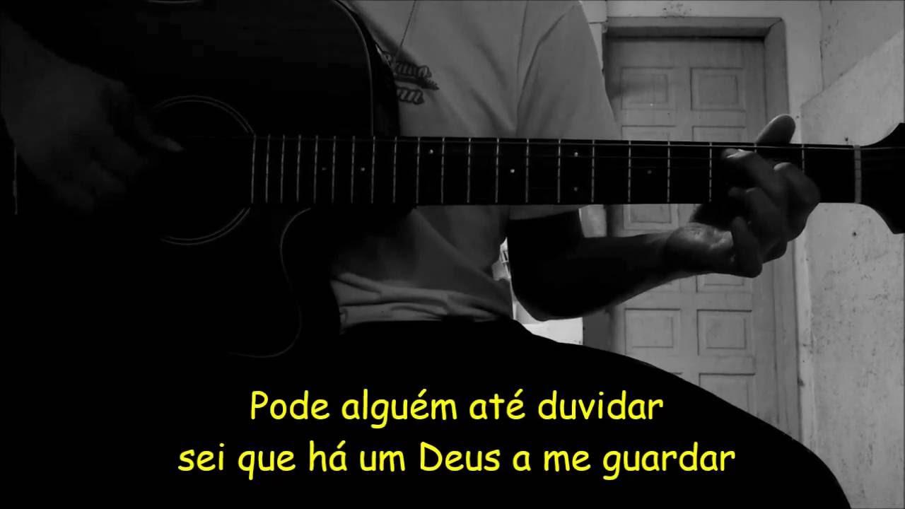 Sua voz, meu Violão. Ninguém Explica Deus - Preto no