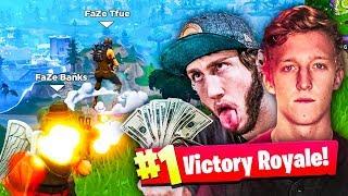 BEST FORTNITE TEAM!! (FaZe Tfue, FaZe Banks & Dakotaz Fortnite Squads Win Gameplay)