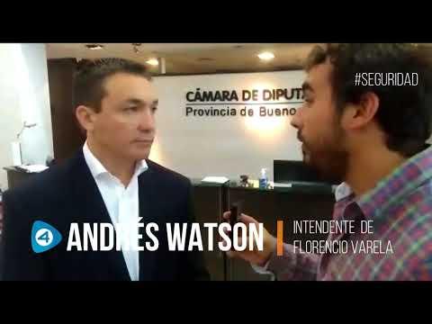 """Andrés Watson con Cuatro Medios: """"Los intendentes estamos muy preocupados por la seguridad"""""""