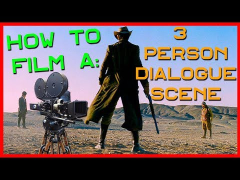 Shooting into the Triangle | How to Film a Three Person Dialogue Scene