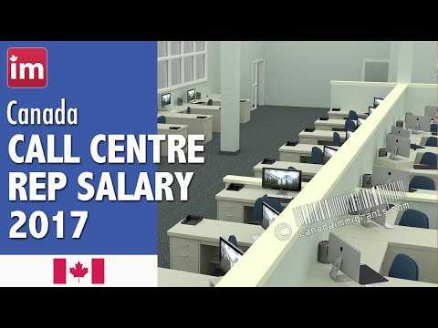 Call Center Representative Salary in Canada | Jobs in Canada (2017)